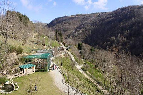 El Parc queda integrat dins una vall. / © Molló Parc