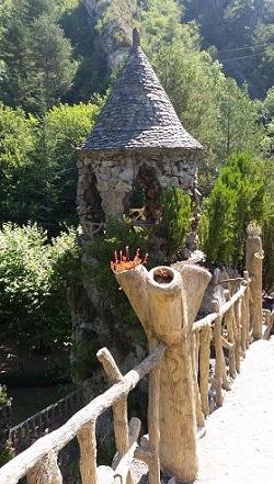 La glorieta és el mirador dels jardins. /©Gg