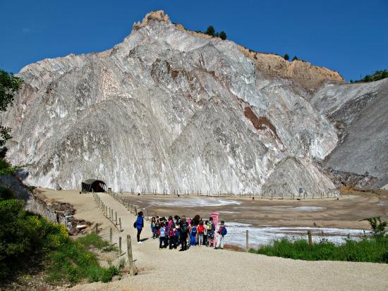 A Cardona la sal aflora a l'exterior. Se'n diu Diapir. I és un dels més importants i espectaculars del món /© Gg