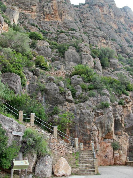 Les Coves de salnitre de Montserrat, a Collbató /© Gg