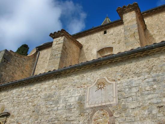 Església de Sant Hilari, de Vidrà. Al seu voltant va créixer el poble. /© Gg