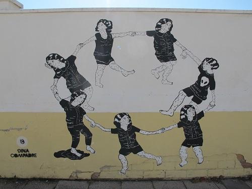 A la majoria de pobles rabien quan apareixen grafitis a les parets. A Penelles, no! /© Gg