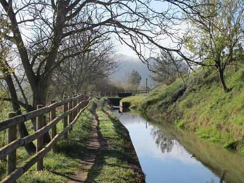 El rec té una fondària d'entre 1'20 a 1'40 metres /© Gg