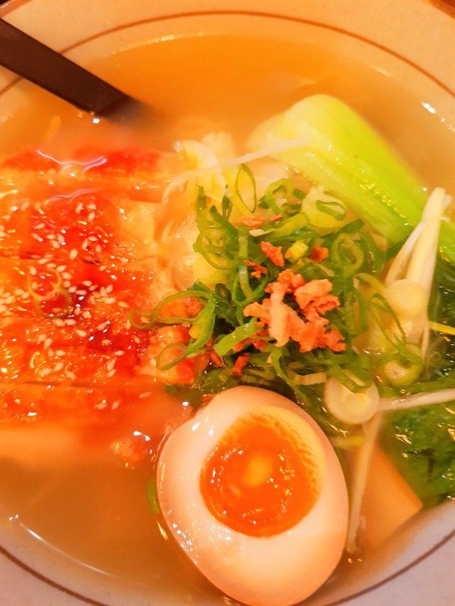 Una de les especialitats de Takumi Ramen Kitchen