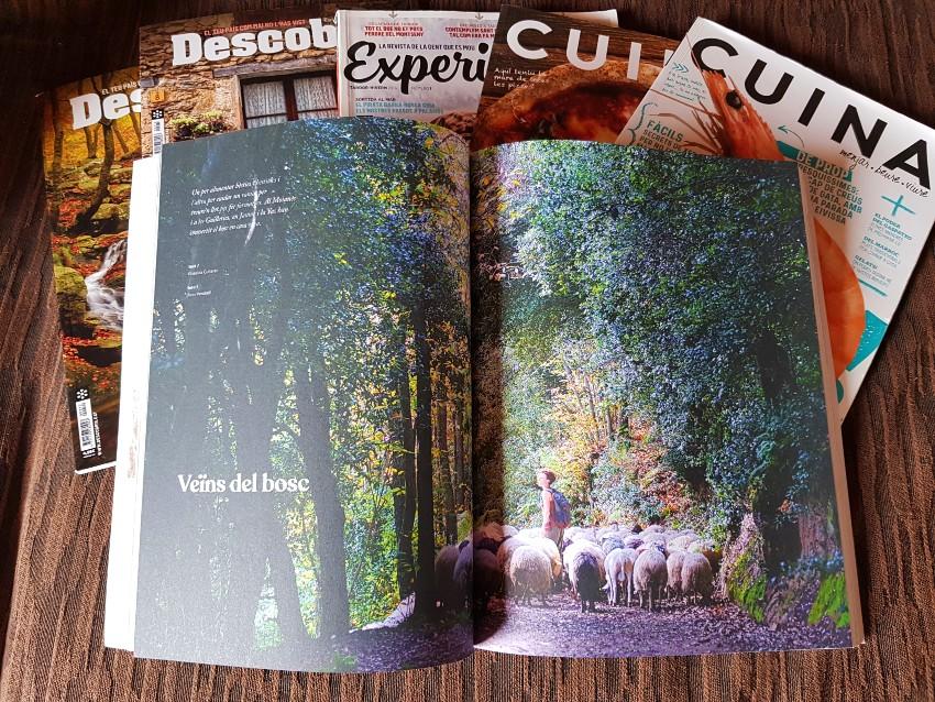Revista Arrels, de la cooperativa SOM . Article Veïns del Bosc, de Griselda Guiteras